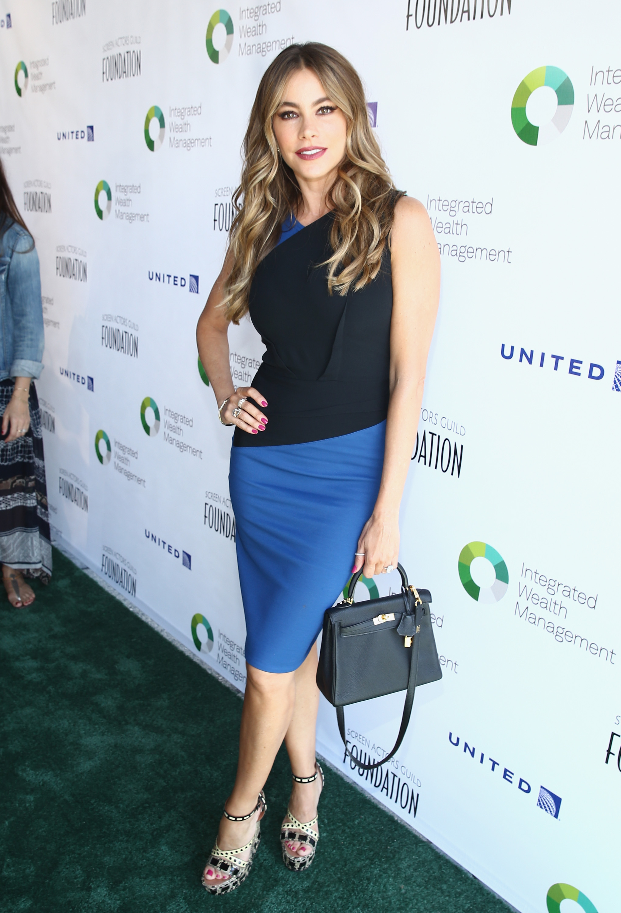 Actress Sofia Vergara attends The Screen Actors Guild Foundation's 6th Annual Los Angeles Golf Classic on June 8, 2015 in Burbank, California.  (Photo by Mark Davis/Getty Images for The Screen Actors Guild Foundation)