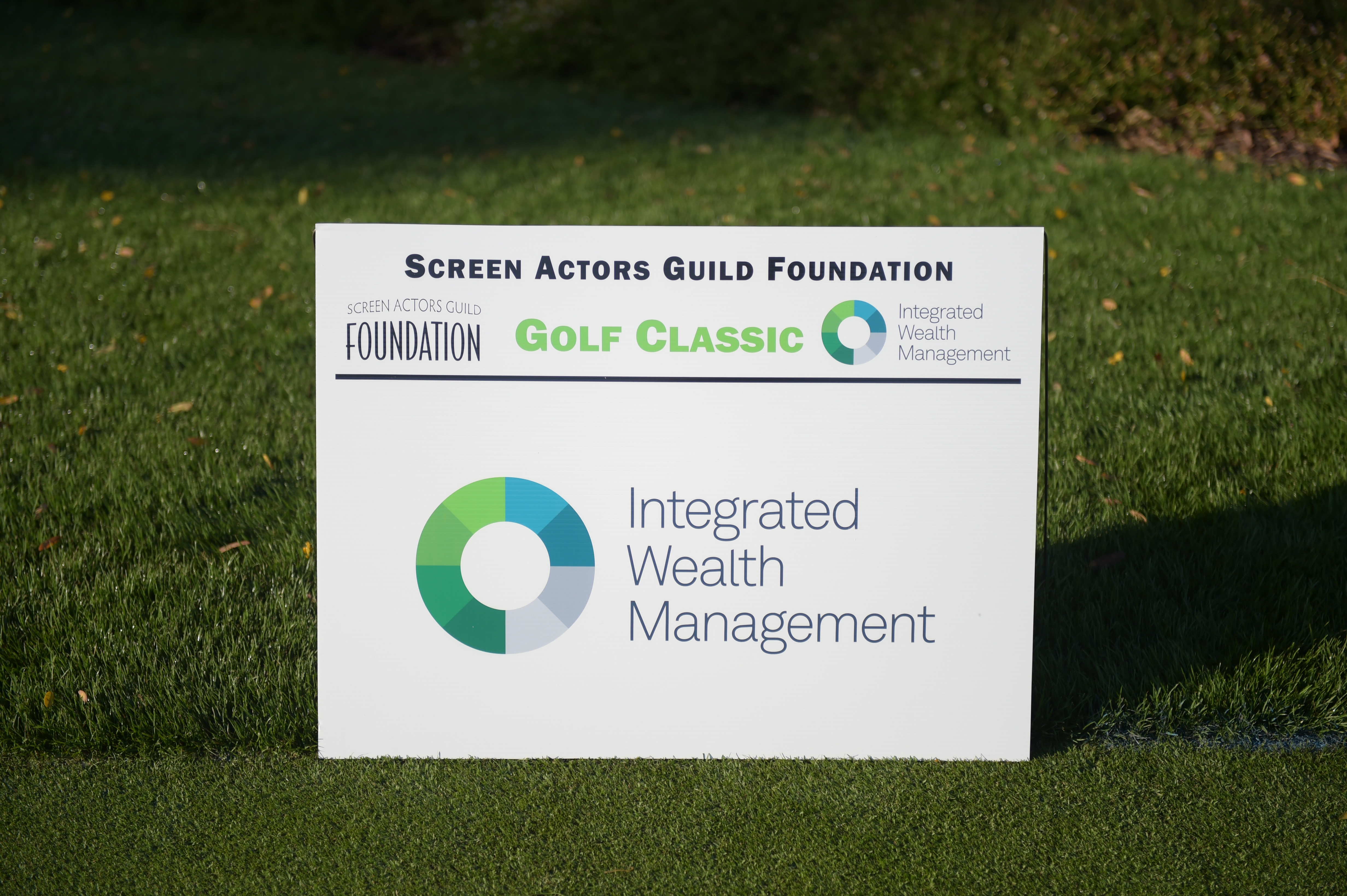 Integrated Wealth Management, sponsor of The Screen Actors Guild Foundation's 6th Annual Los Angeles Golf Classic. (Photo by Jason Kempin/Getty Images for The Screen Actors Guild Foundation)