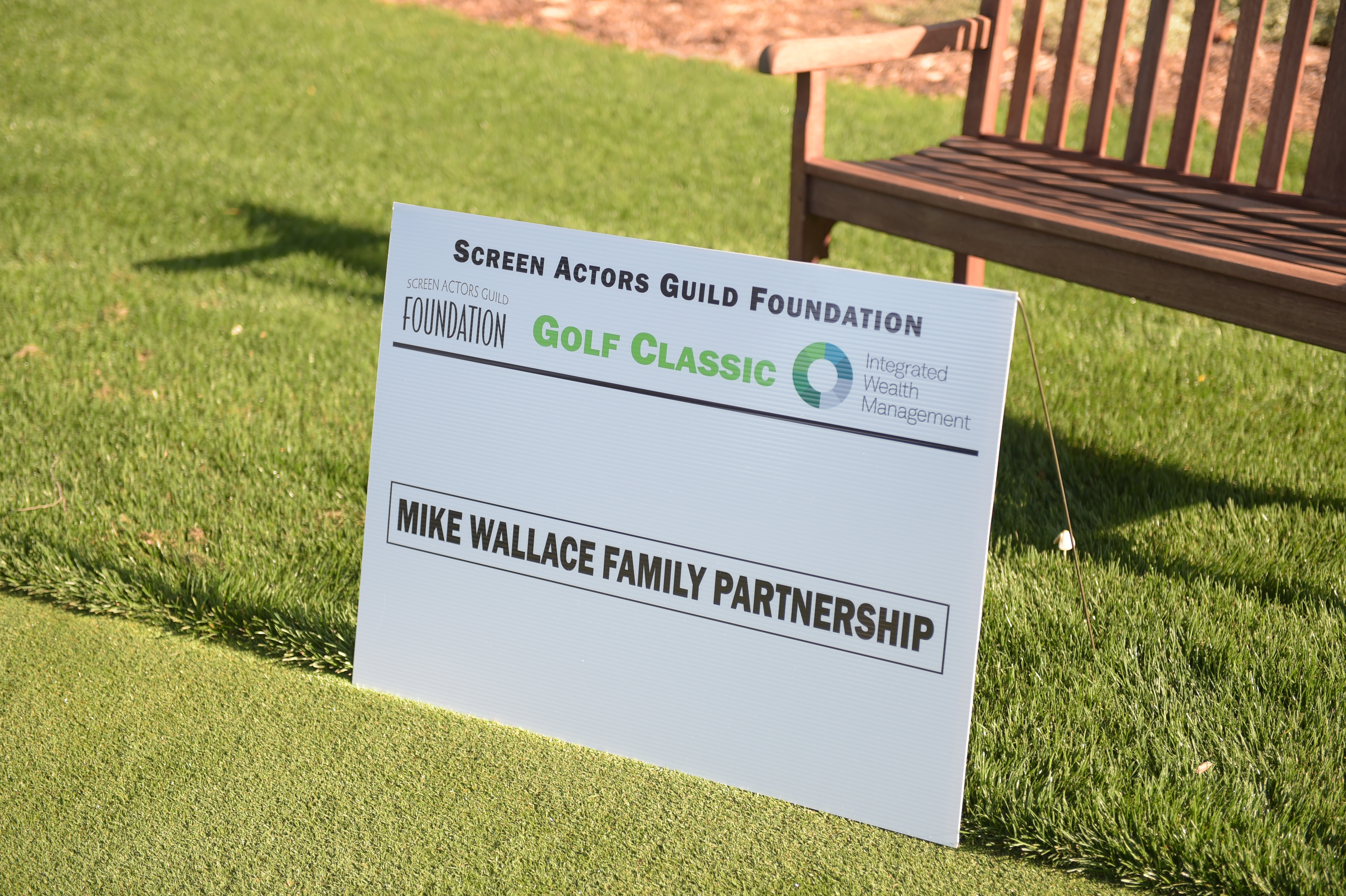 Mike Wallace Family Partnership sponsors The Screen Actors Guild Foundation's 6th Annual Los Angeles Golf Classic. (Photo by Jason Kempin/Getty Images for The Screen Actors Guild Foundation)