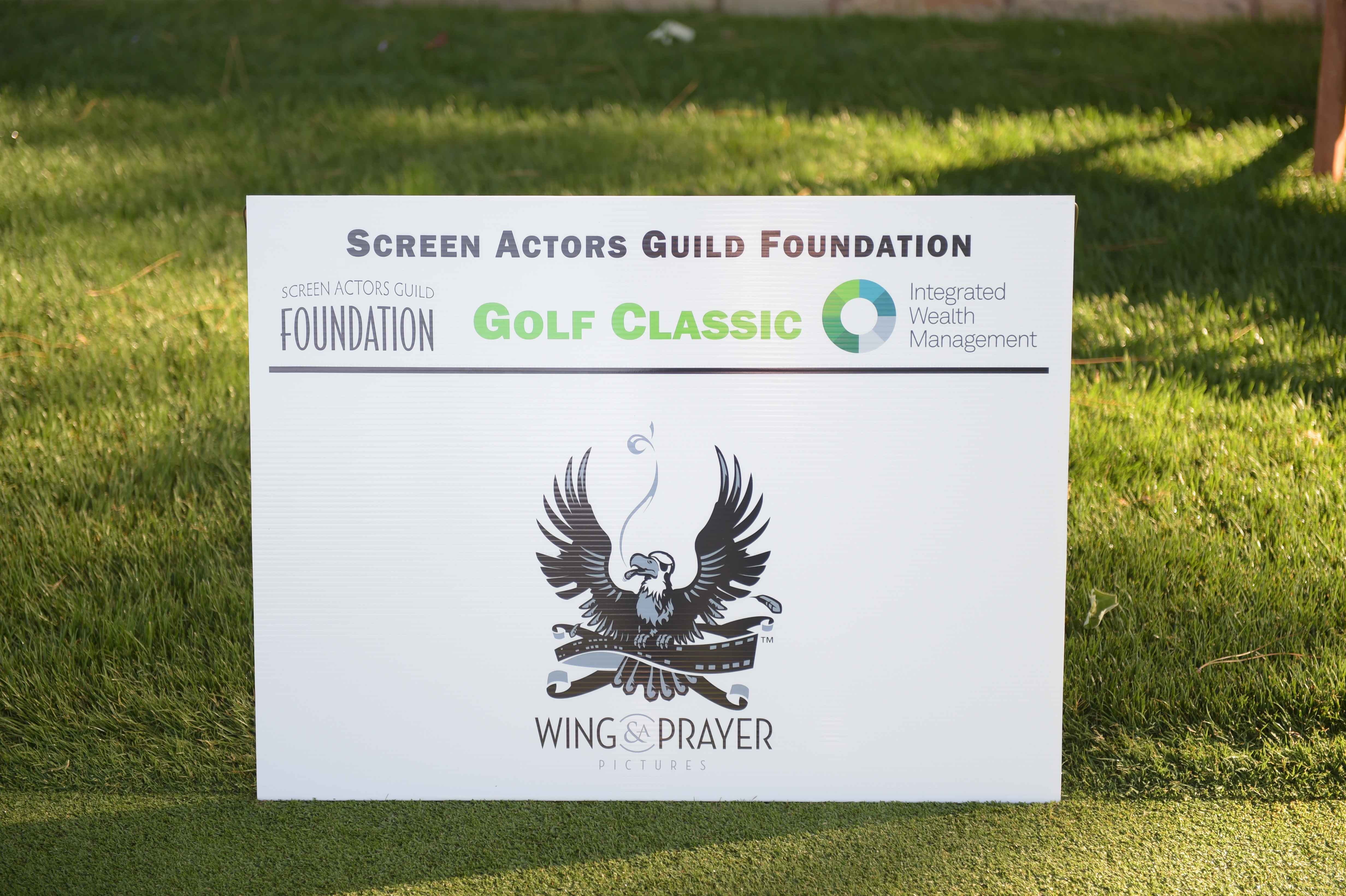 Wing & a Prayer Pictures sponsors The Screen Actors Guild Foundation's 6th Annual Los Angeles Golf Classic. (Photo by Jason Kempin/Getty Images for The Screen Actors Guild Foundation)