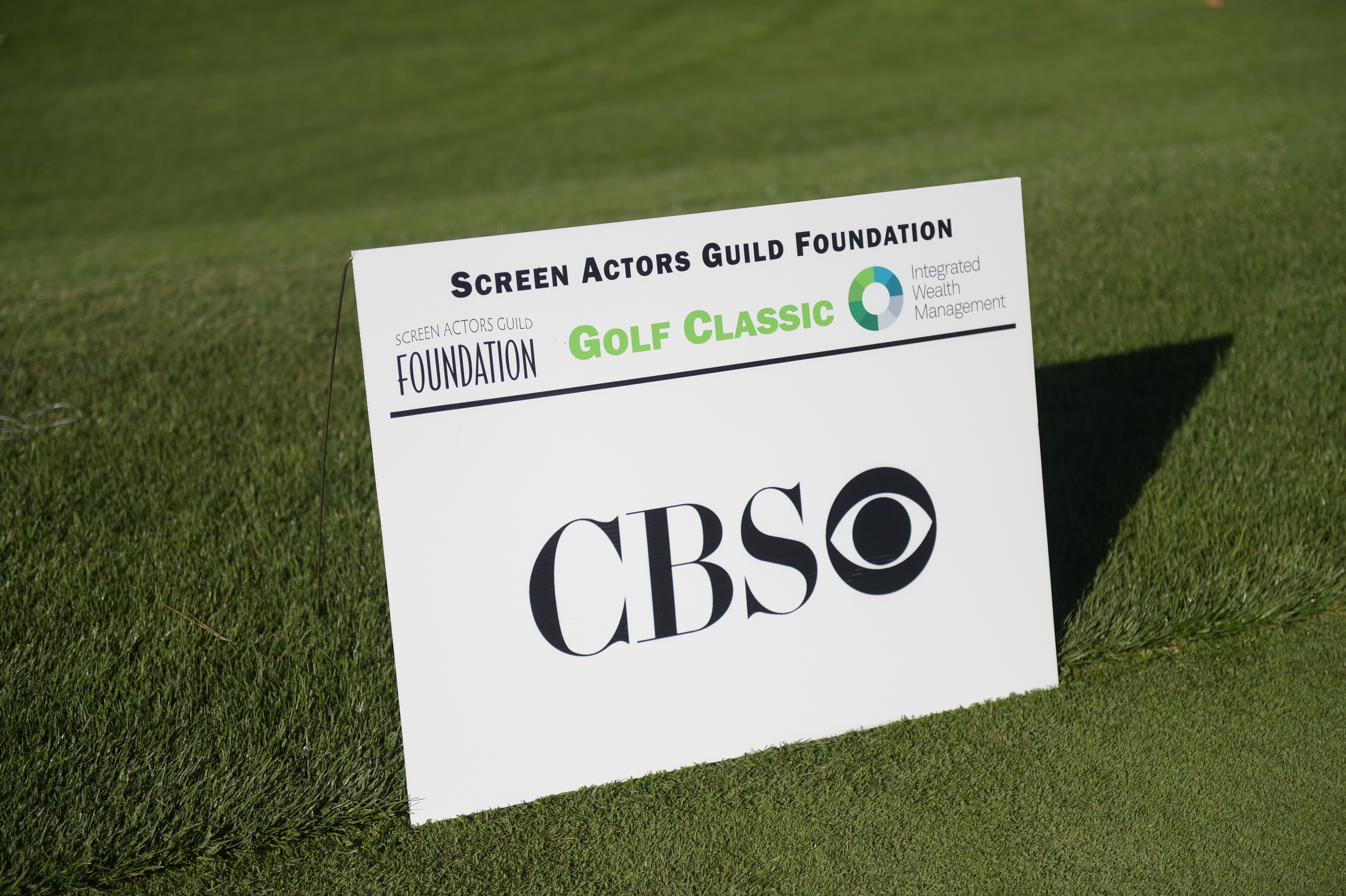 CBS sponsors The Screen Actors Guild Foundation's 6th Annual Los Angeles Golf Classic. (Photo by Jason Kempin/Getty Images for The Screen Actors Guild Foundation)