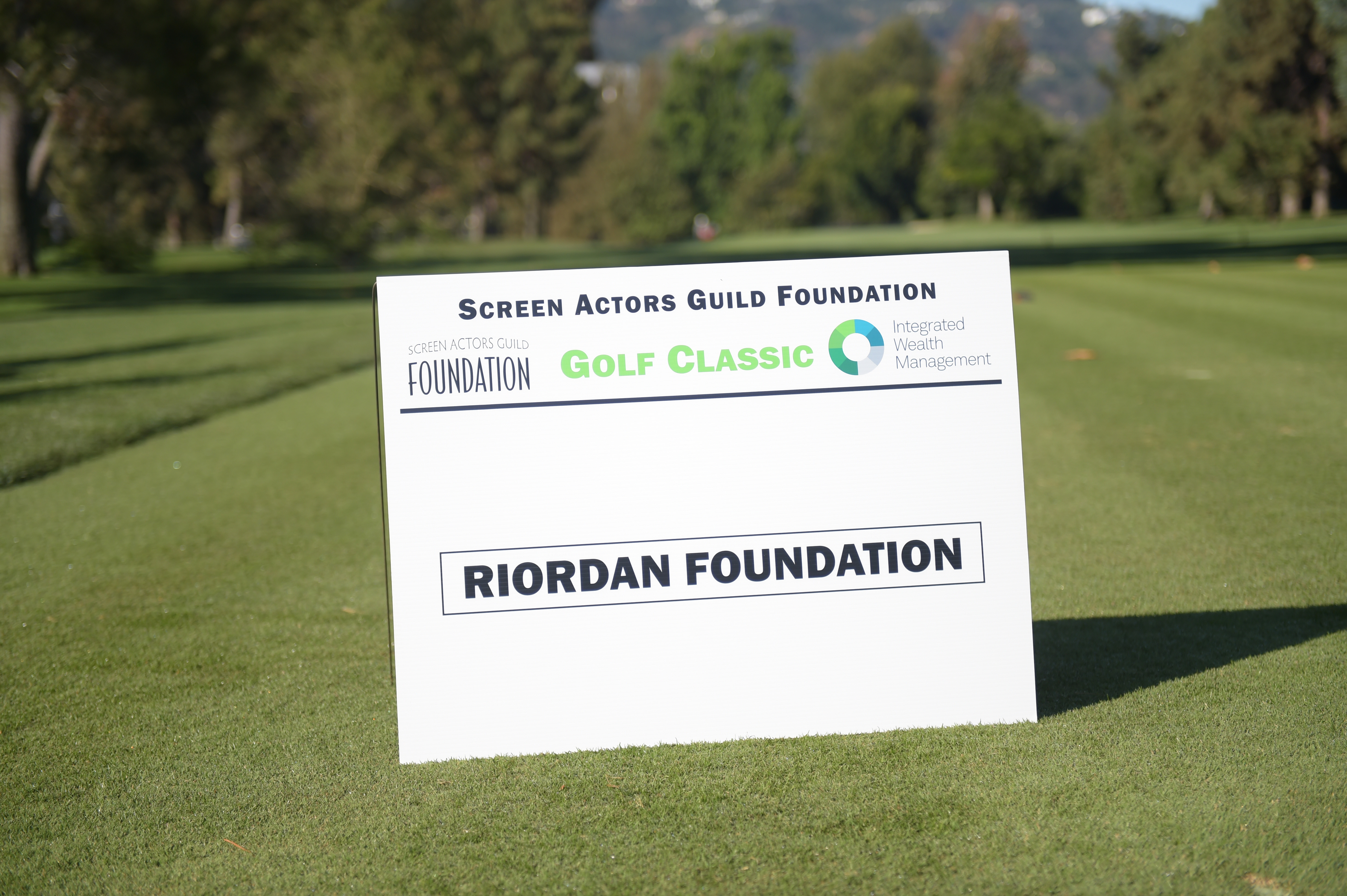 Riordan Foundation sponsors The Screen Actors Guild Foundation's 6th Annual Los Angeles Golf Classic. (Photo by Jason Kempin/Getty Images for The Screen Actors Guild Foundation)