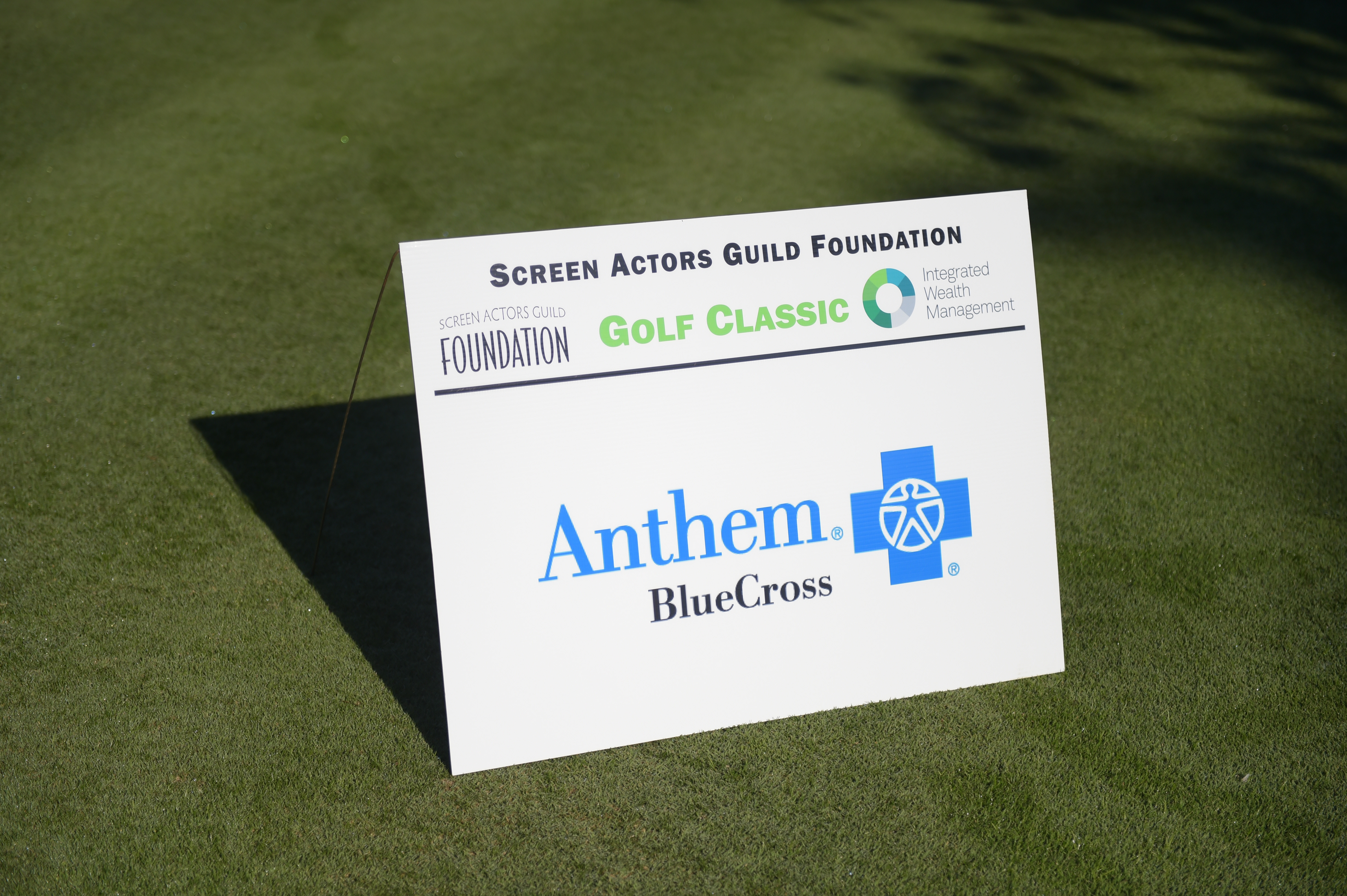 Anthem Blue Cross sponsors The Screen Actors Guild Foundation's 6th Annual Los Angeles Golf Classic. (Photo by Jason Kempin/Getty Images for The Screen Actors Guild Foundation)