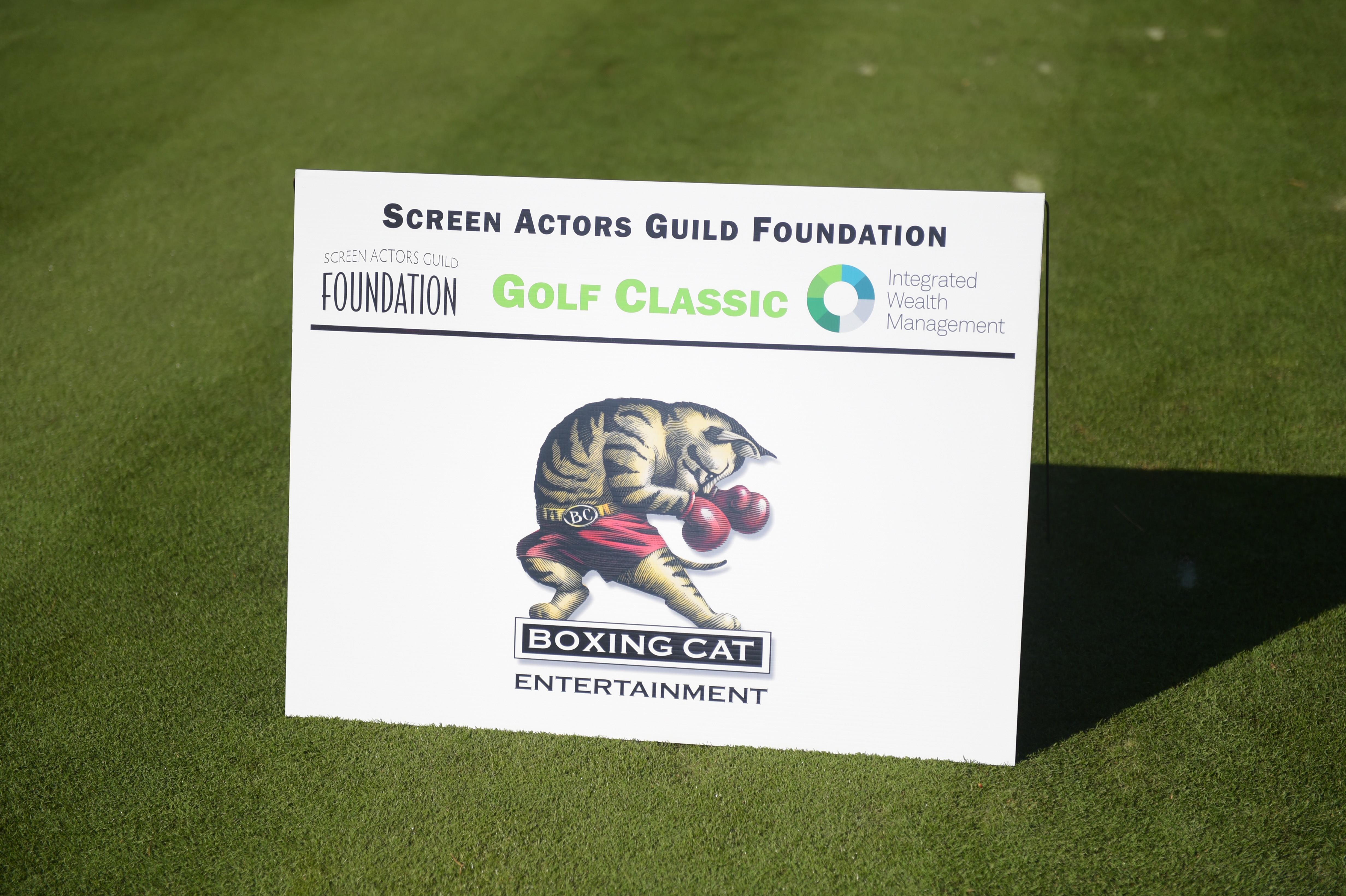 Boxing Cat Entertainment sponsors The Screen Actors Guild Foundation's 6th Annual Los Angeles Golf Classic. (Photo by Jason Kempin/Getty Images for The Screen Actors Guild Foundation)