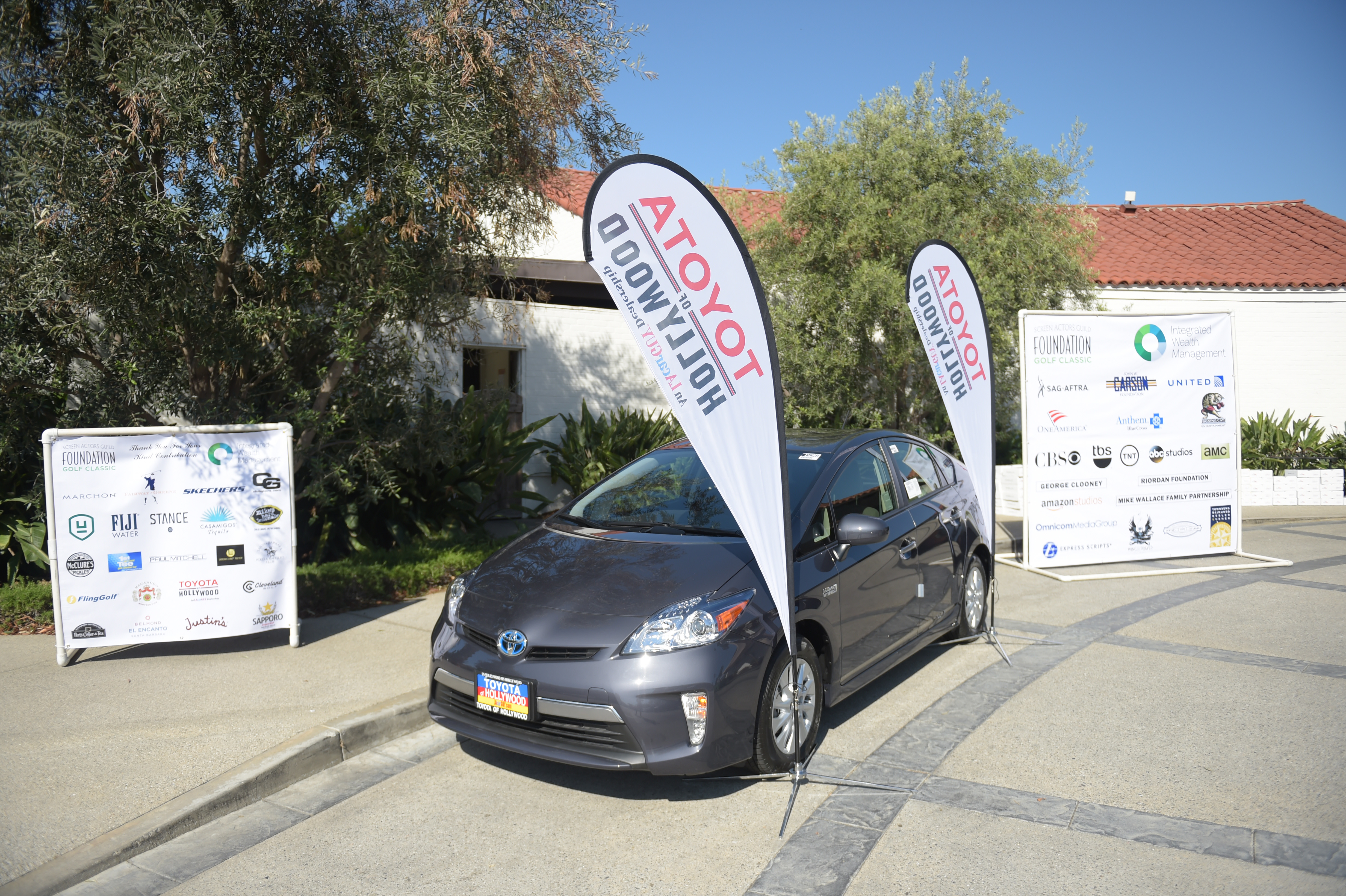 Hole-in-one sponsor Toyota of Hollywood at The Screen Actors Guild Foundation's 6th Annual Los Angeles Golf Classic. (Photo by Jason Kempin/Getty Images for The Screen Actors Guild Foundation)