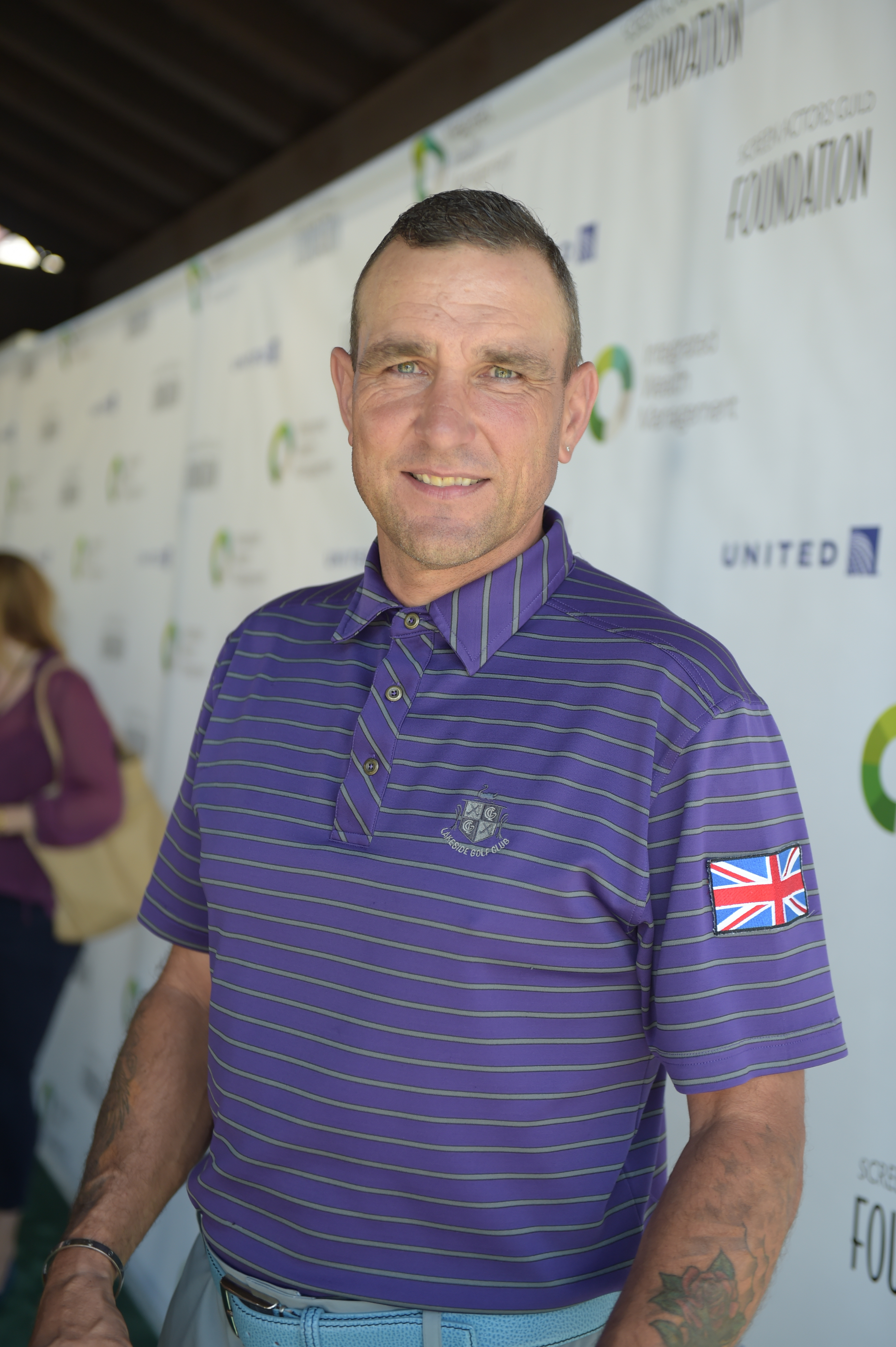 Vinnie Jones attends The Screen Actors Guild Foundation's 6th Annual Los Angeles Golf Classic on June 8, 2015 in Burbank, California. (Photo by Jason Kempin/Getty Images for The Screen Actors Guild Foundation)