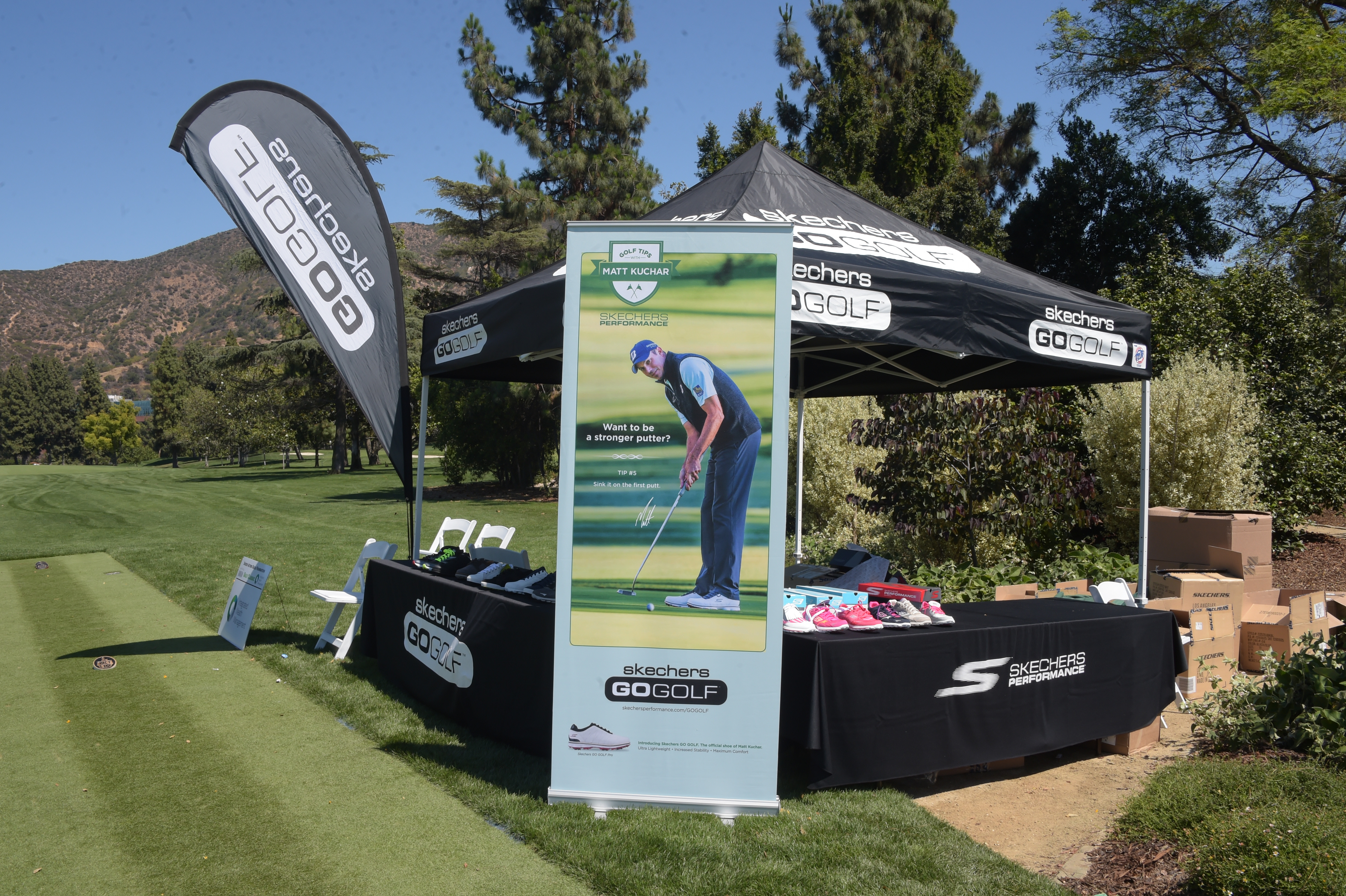 Sketchers Go Golf sponsors The Screen Actors Guild Foundation's 6th Annual Los Angeles Golf Classic on June 8, 2015 in Burbank, California. (Photo by Jason Kempin/Getty Images for The Screen Actors Guild Foundation)