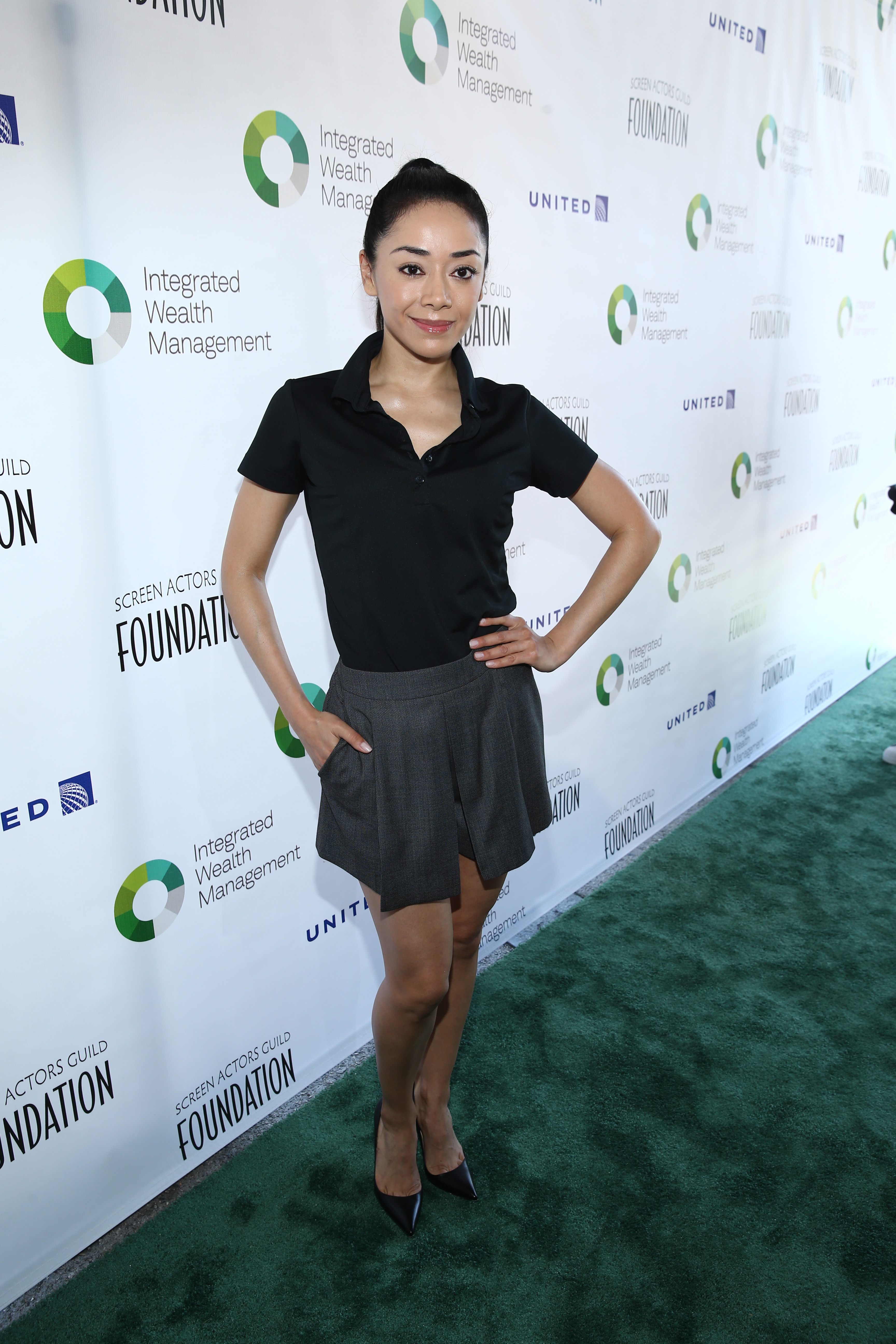Aimee Garcia attends The Screen Actors Guild Foundation's 6th Annual Los Angeles Golf Classic on June 8, 2015 in Burbank, California. (Photo by Jason Kempin/Getty Images for The Screen Actors Guild Foundation)