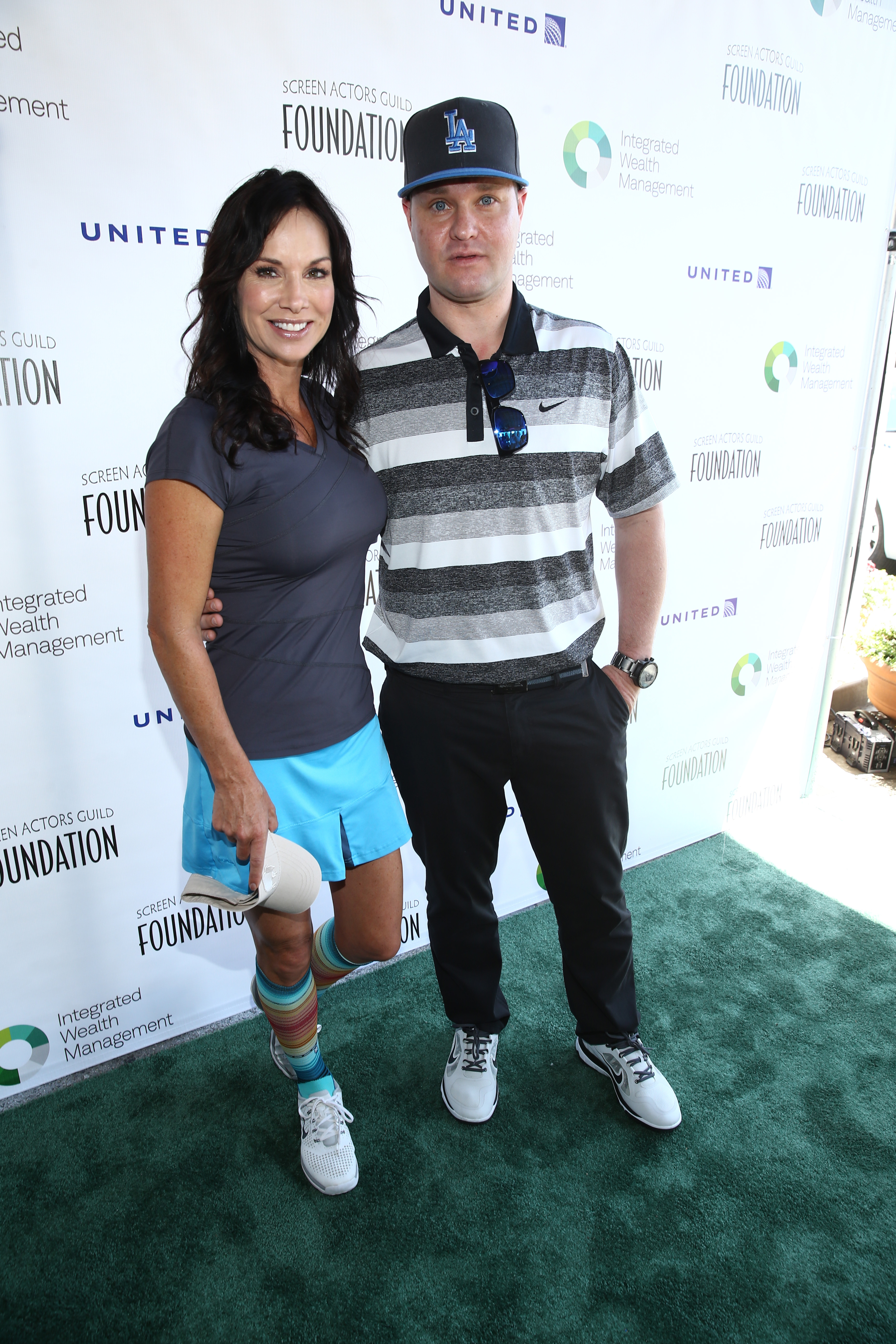 Debbe Dunning and Zachary Ty Bryan attend The Screen Actors Guild Foundation's 6th Annual Los Angeles Golf Classic on June 8, 2015 in Burbank, California. (Photo by Mark Davis/Getty Images for The Screen Actors Guild Foundation)