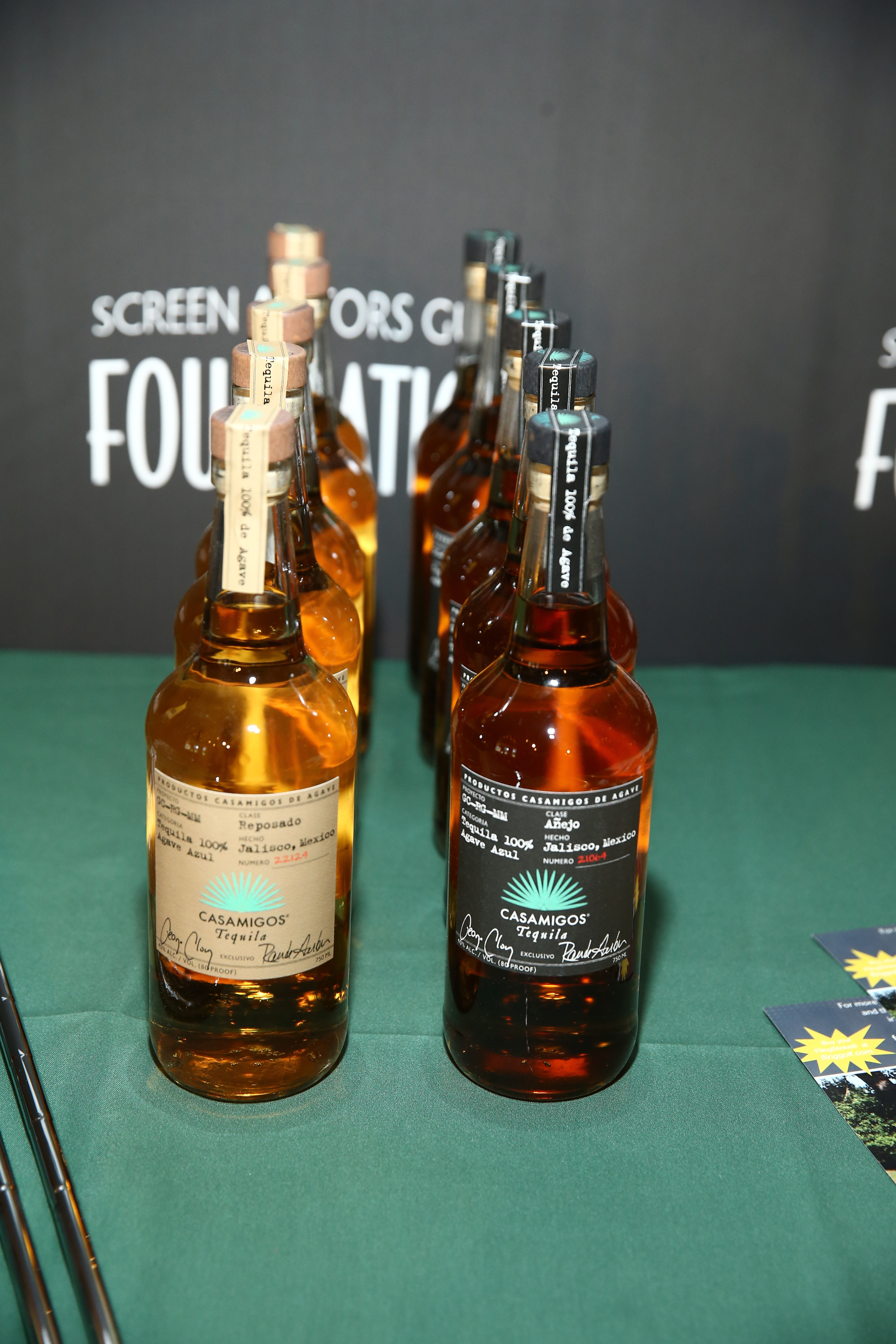 Casamigos Tequila sponsors The Screen Actors Guild Foundation's 6th Annual Los Angeles Golf Classic on June 8, 2015 in Burbank, California. (Photo by Mark Davis/Getty Images for The Screen Actors Guild Foundation)
