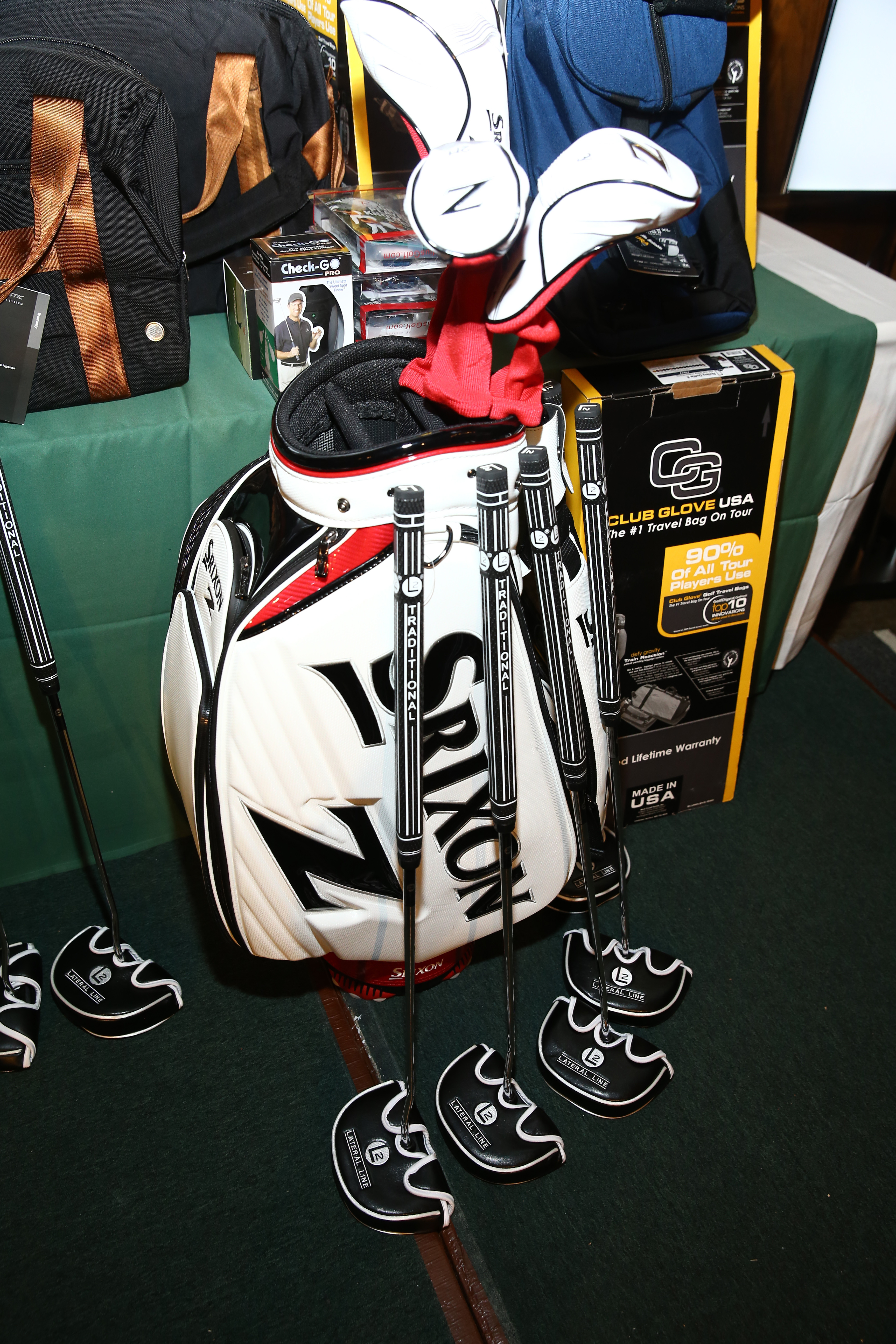 Srixon, L2 Putters, Club Glove USA and more sponsor The Screen Actors Guild Foundation's 6th Annual Los Angeles Golf Classic on June 8, 2015 in Burbank, California. (Photo by Mark Davis/Getty Images for The Screen Actors Guild Foundation)