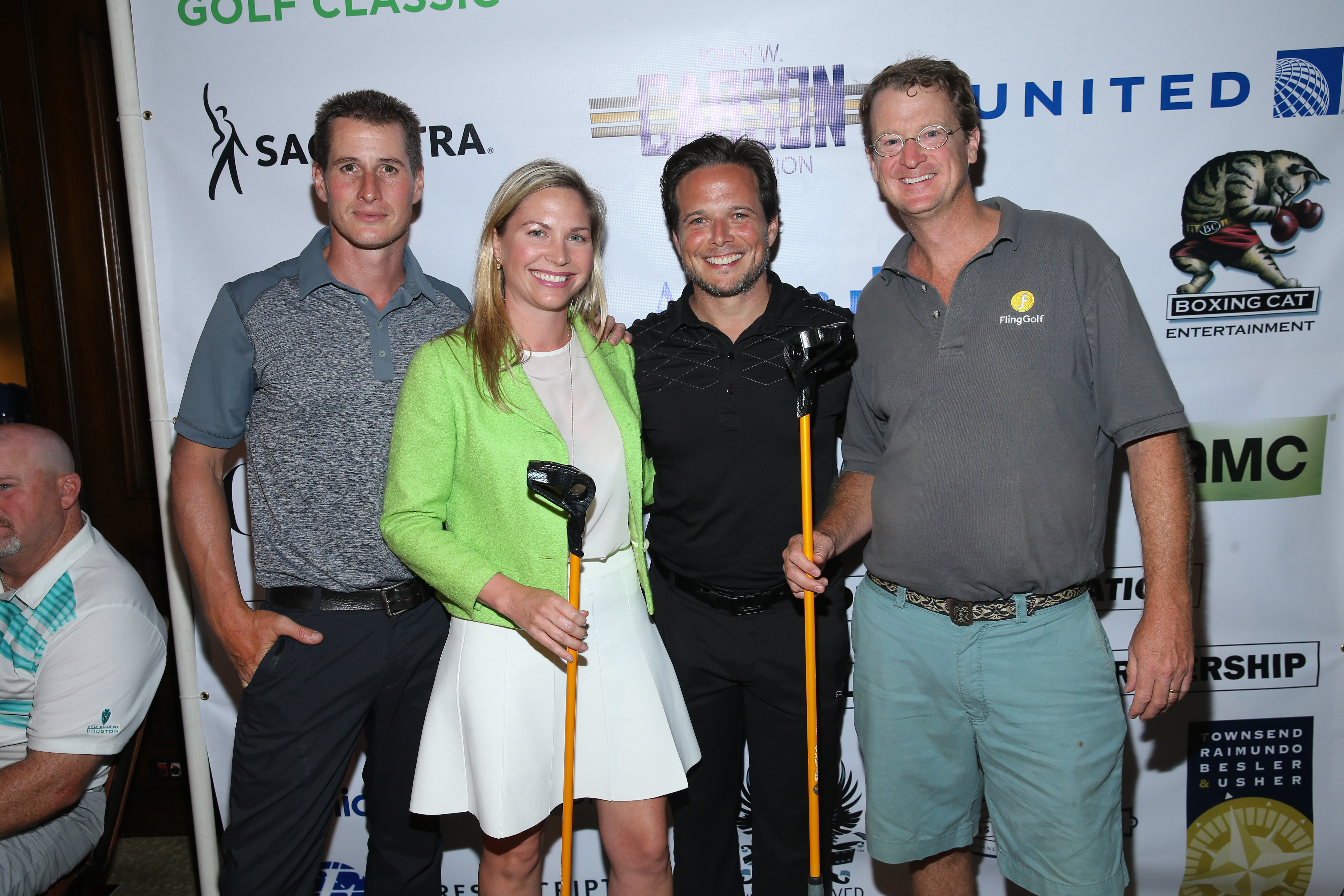 Sponsor 'Fling Golf' with Brendan Fehr and Scott Wolf at The Screen Actors Guild Foundation's 6th Annual Los Angeles Golf Classic on June 8, 2015 in Burbank, California. (Photo by Mark Davis/Getty Images for The Screen Actors Guild Foundation)