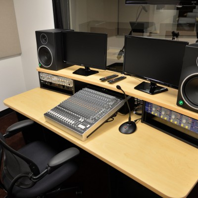 EIF Voiceover Lab at the Actors Center - New York. Photo by Andrew Walker / Getty Images.