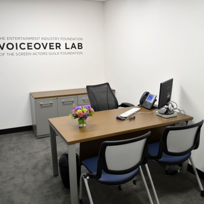 SEIF Voiceover Lab at the Actors Center - New York. Photo by Andrew Walker / Getty Images.