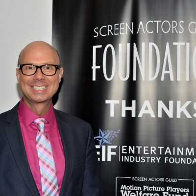 BroadwayWorld.com's Richard Ridge attends the opening of the SAG Foundation's New York Actors Center, April 30, 2014. Photo by Andrew Walker/Getty Images