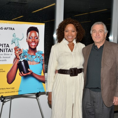 Robert DeNiro and Grace Hightower attend the opening of the SAG Foundation's New York Actors Center, April 30, 2014. Photo by Andrew Walker/Getty Images