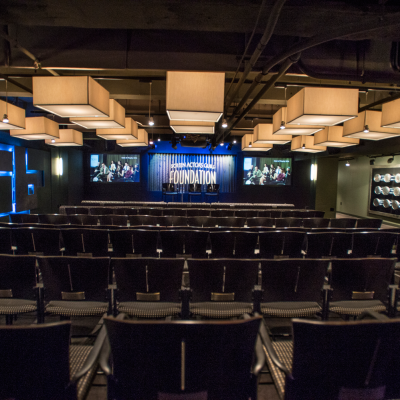 Screening Room at the Actors Center - Los Angeles.  Photo by Neil Jacobs.