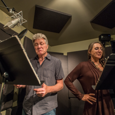 Voice actors can record demo reels at the Don LaFontaine Voiceover Lab - Los Angeles. Photo by Neil Jacobs.
