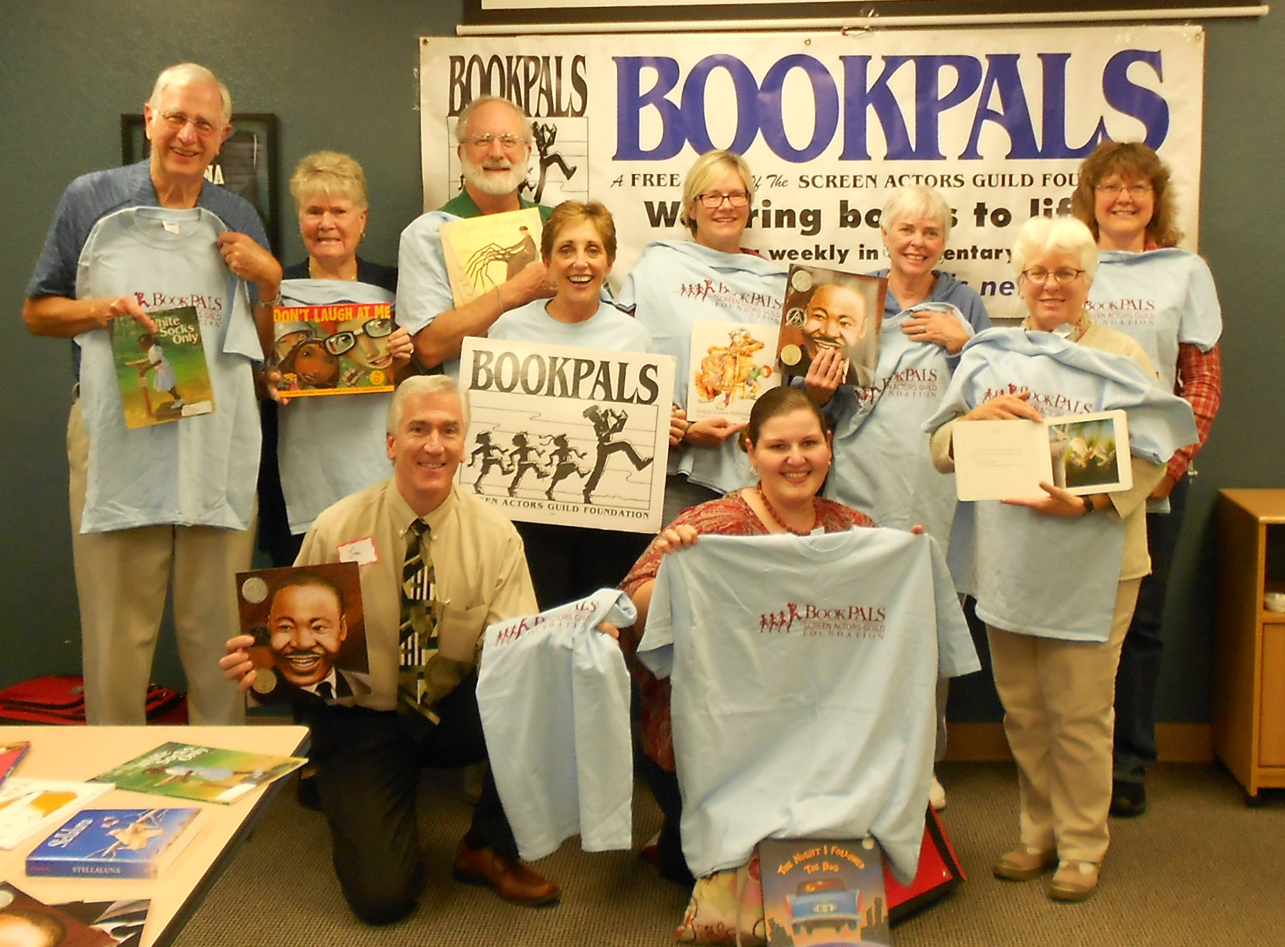 Some of the Flagstaff BookPALS trained in October.