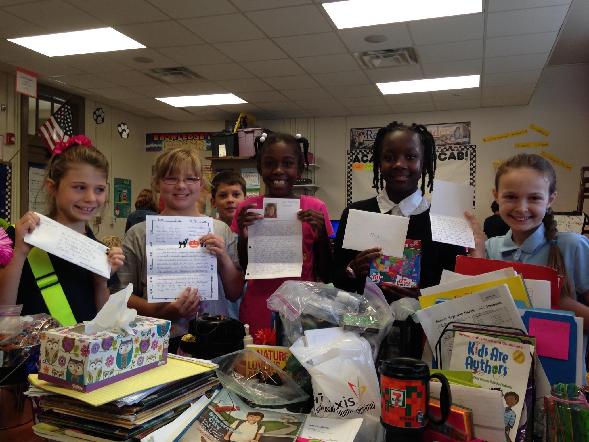 Orlando's 5th Grade PencilPALS