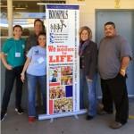 Jill Hicks (Community Outreach) Tyler Hicks (Discover Books) Ellen Dean (BookPALS) Pam Giannonotti (Fry's) Ivan Armendariz (Discover Books)