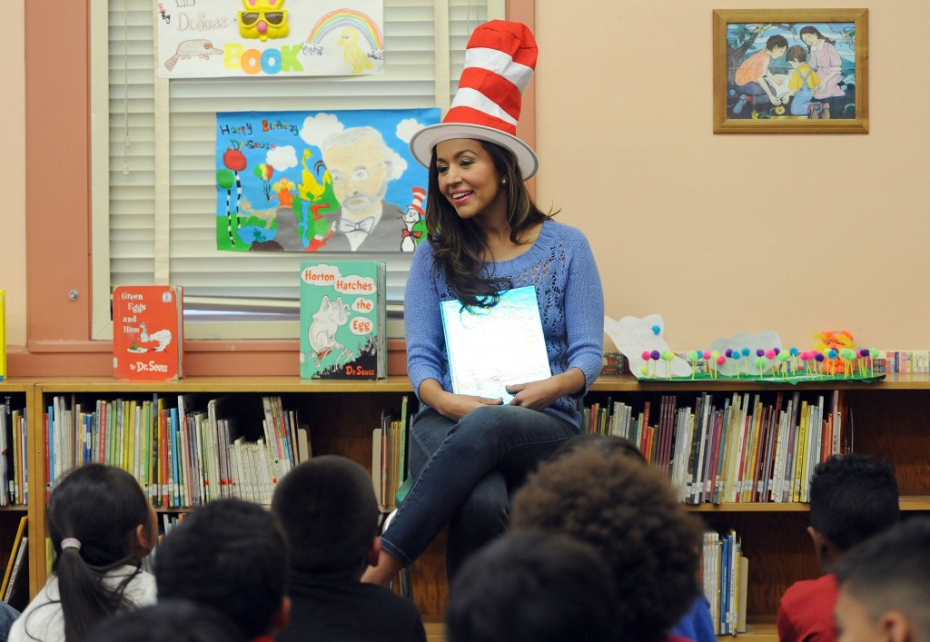 "SAG Foundation BookPALS And Rise Up Foundation Kickoff National ""Read To Me"" Literacy Initiative"
