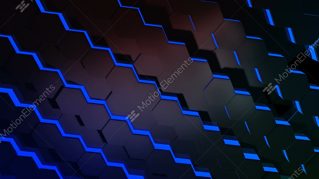 Hexagonal tile array stock animation 2278093 royalty for M floor meaning