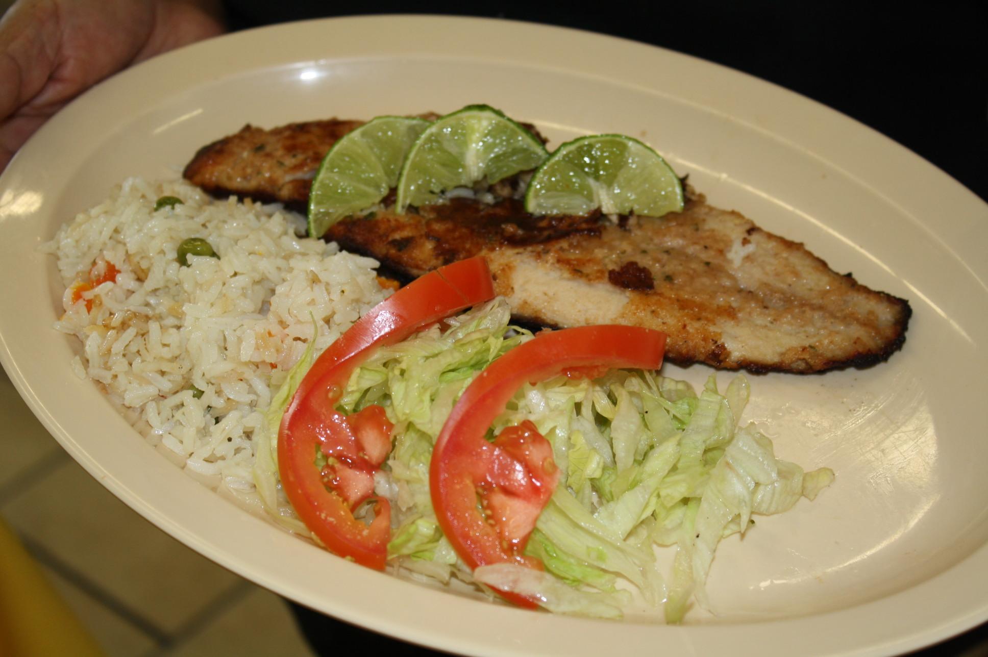 filete de pescado con arroz wwwpixsharkcom images