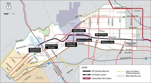 El proyecto recomendado por el personal de Metro.