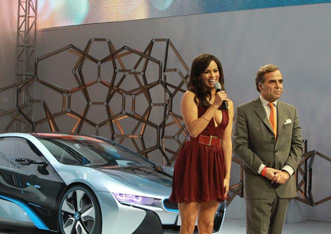 El año pasado la artista Paula Patton y la marca BMW hicieron soñar a los asistentes…