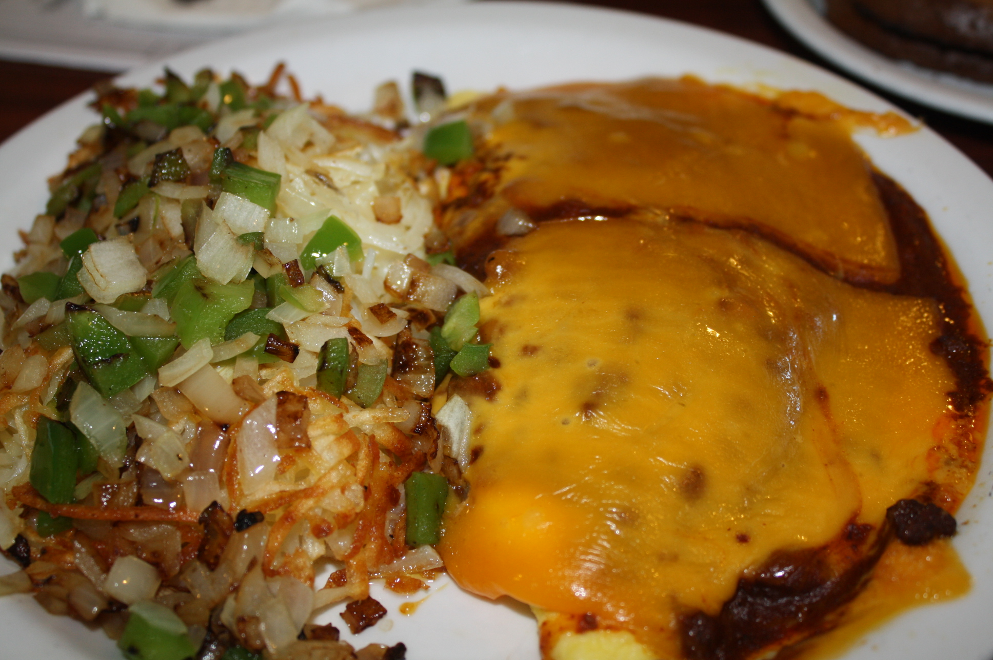 Chili & Cheese Omelette. (Foto de Agustín Durán/El Pasajero).