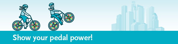 Muestre el poder del pedal