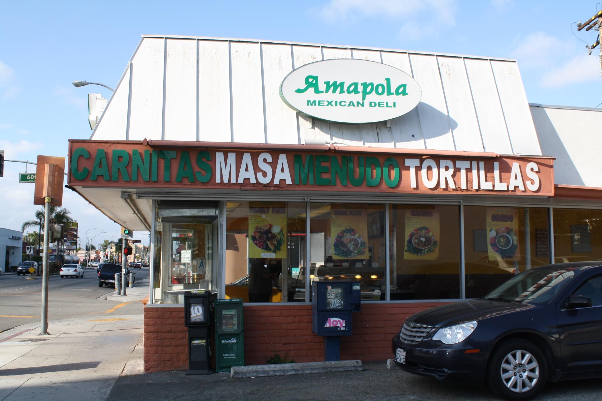 En transporte público es muy fácil de llegar al restaurante que está ubicado en la esquina de la calle 60 y el bulevar Atlantic en la ciudad de Maywood. (Foto de Agustín Durán/El Pasajero).