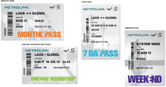 Metrolink TAP 1