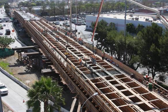 Construcción Expo Line 1