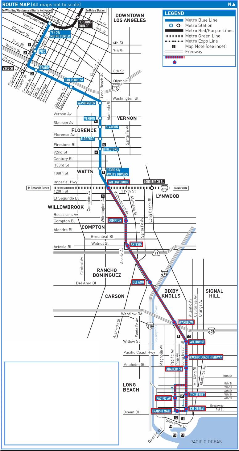 Ruta Linea Azul