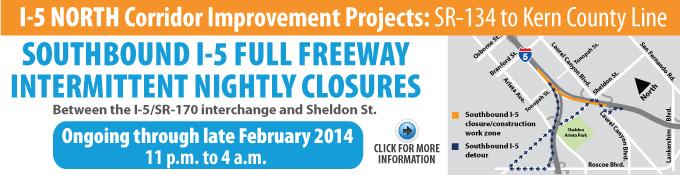 I-5 North Project_Banner 118-170 Feb14