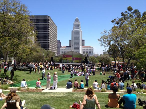 Este sábado tendrá lugar el Festival del Libro en Grand Park, en el centro de L.A. Foto: via creative commons.
