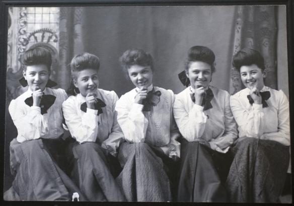 """Las """"Harvey Girls"""" cambiaron la historia de Estados Unidos. Foto: Cortesía de Northern Arizona University."""