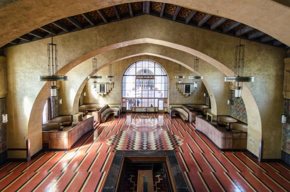 La Junta Directiva de Metro aprobó hoy rentar el Salón Fred Harvey de Union Station para que funcione como restaurante-bar. Foto: Steve Harvey/Metro.