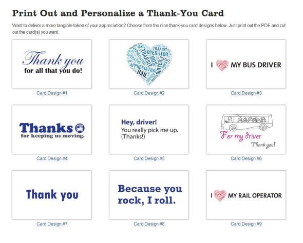 tarjetas gracias