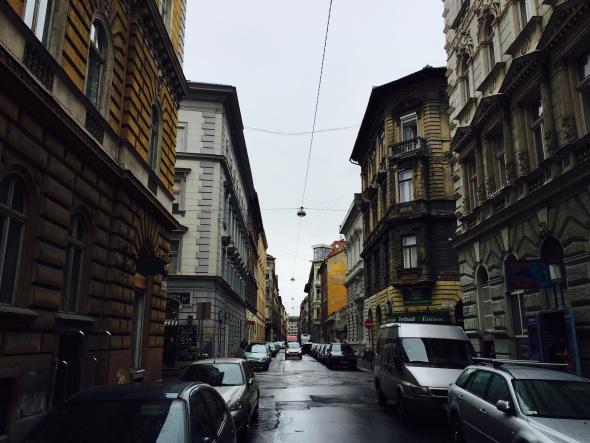 Budapest después de la lluvia.
