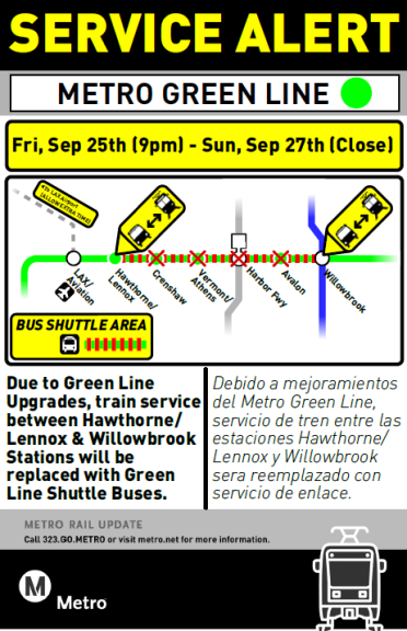 green-line-sign