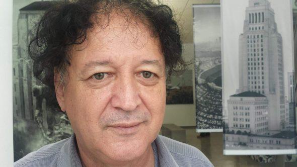 El artista Manuel Benítez.