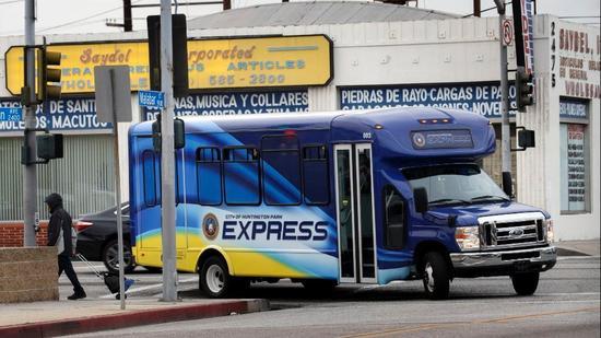 Autobús de Metro Transit Services. Foto: LATimes.