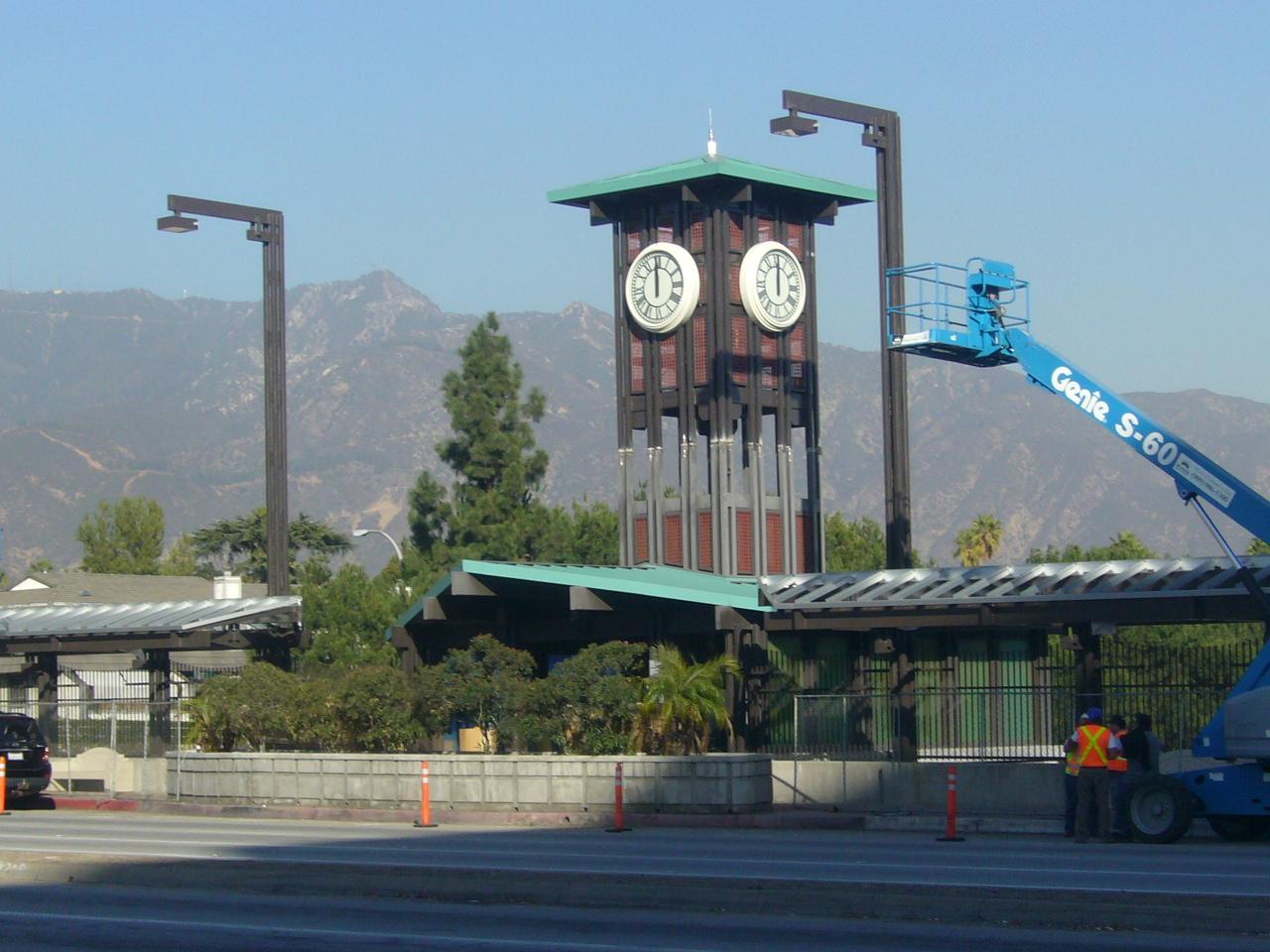 Lake clock 005