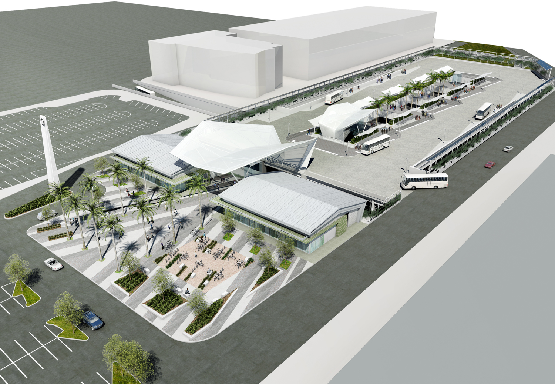 El Monte Bus Station Work Begins Next Week The Source