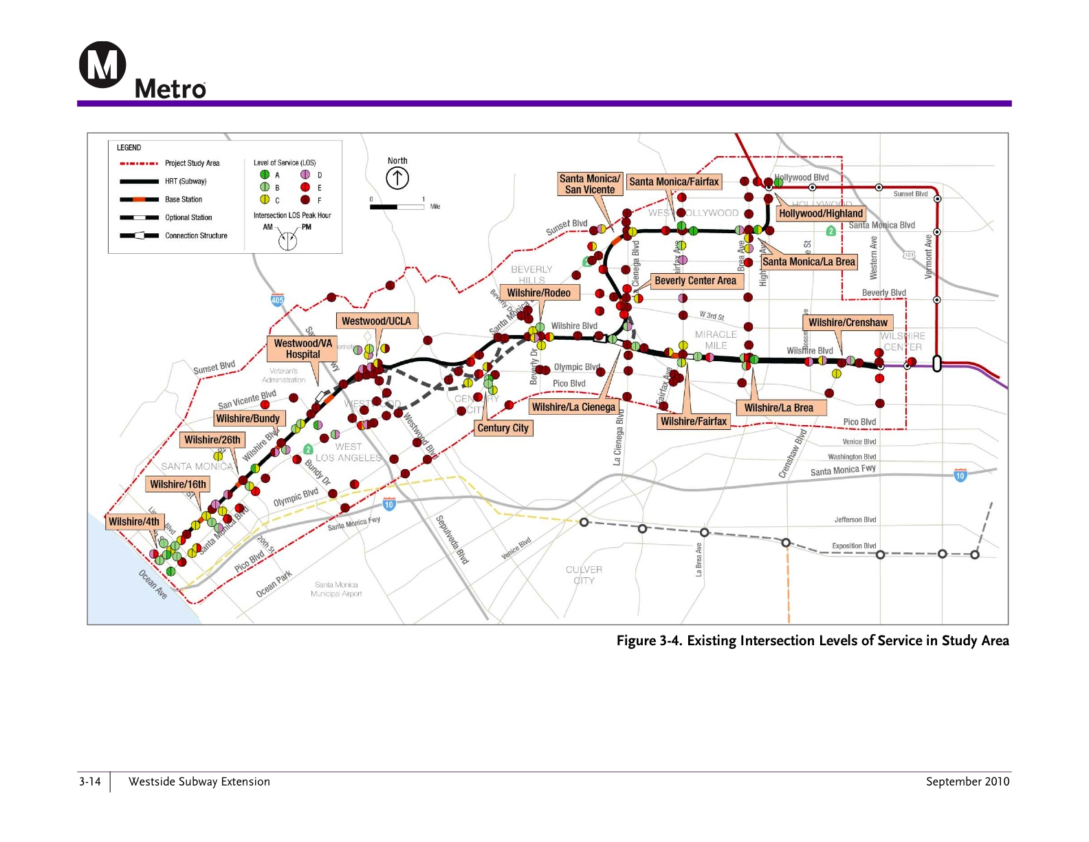 Its Official Metro Board Of Directors Selects Wilshire Route For - Los angeles metro expansion map