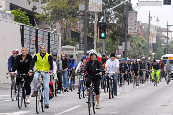 Annual Downtown Bike Ride is part of Bike Week L.A.