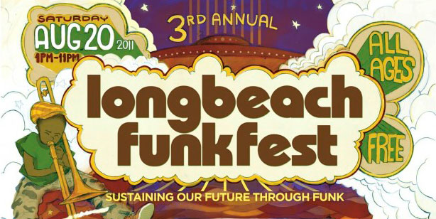 The Long Beach Funk Fest is just a Blue Line ride away.